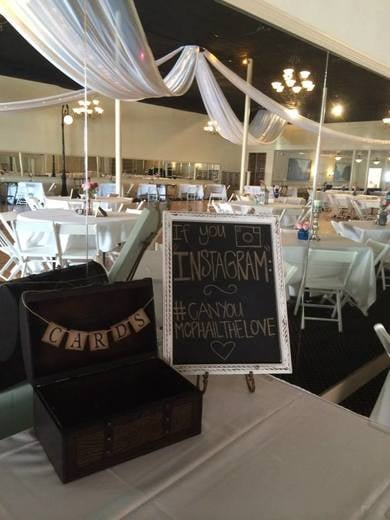 Personalize your event in many ways.