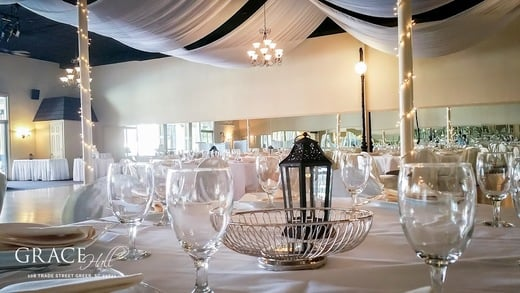 We can offer a variety of decorations, center pieces, glassware and more...