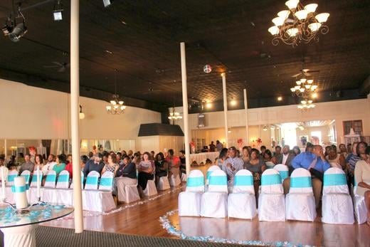 Wedding & Reception combinations are often held at Grace Hall